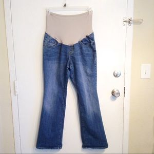 Old Navy Maternity Plus Size Denim Boot Cut Jeans